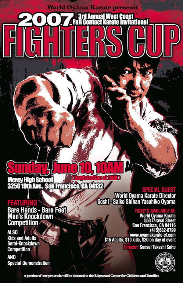 2007 Fighters Cup Poster