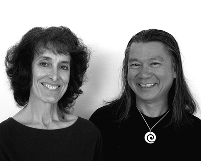 Author Photo, Elise and Kaleo Ching