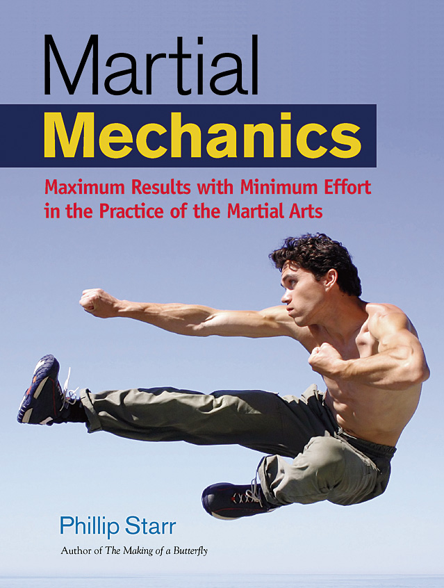 Martial Mechanics by Phillip Starr, working cover