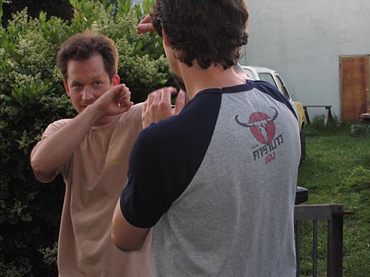 Ba Gua practice, Oakland, CA