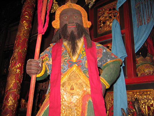 Taoist icon, Weaverville Joss House