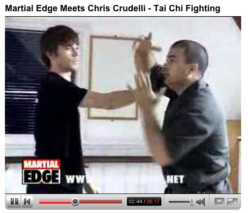 Tai Chi Fighting on You Tube with Pete Mills