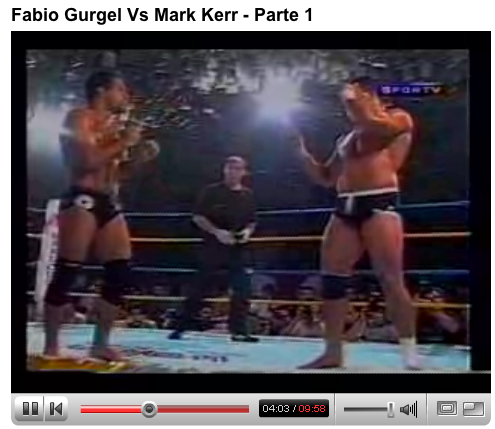 Fabio Gurgel vs Mark Kerr Part I