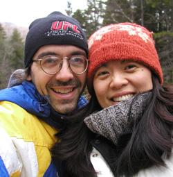 Daniele Bolelli and wife, Elizabeth