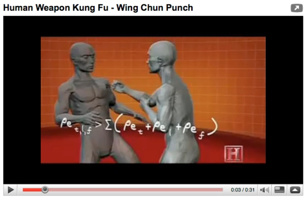 Wing Chun Punch YouTube Video